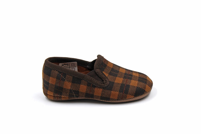 Pepe Plaid Smoking Slipper