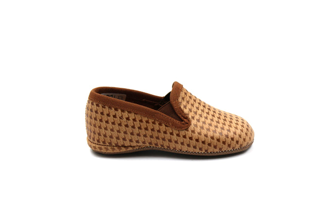 Pepe Herringbone Smoking Slipper