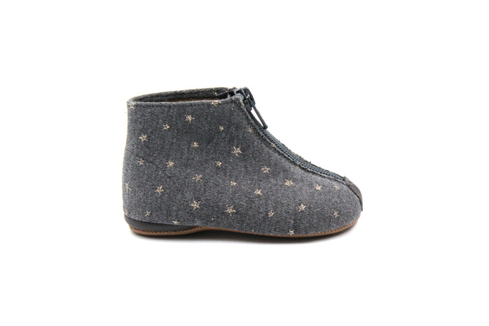 Pepe Star Zipper Bootie
