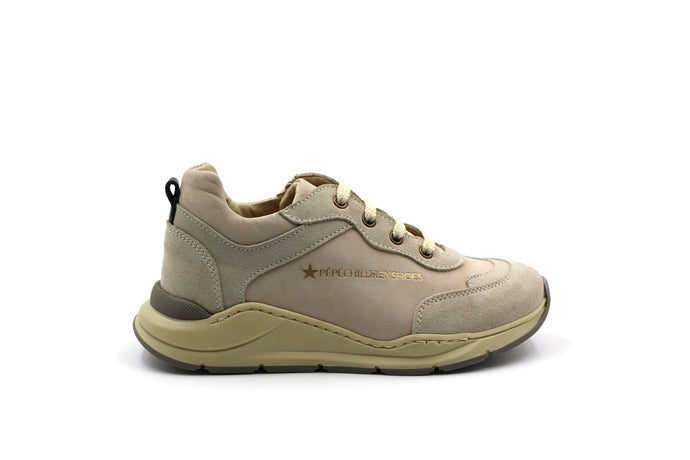 Pepe Taupe Dad Sneaker