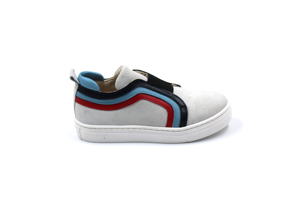 Sonatina Blue Detail Slip On Sneaker