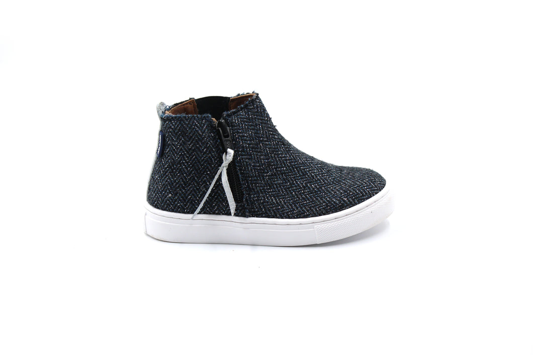 Atlanta Tweed Sneaker Bootie