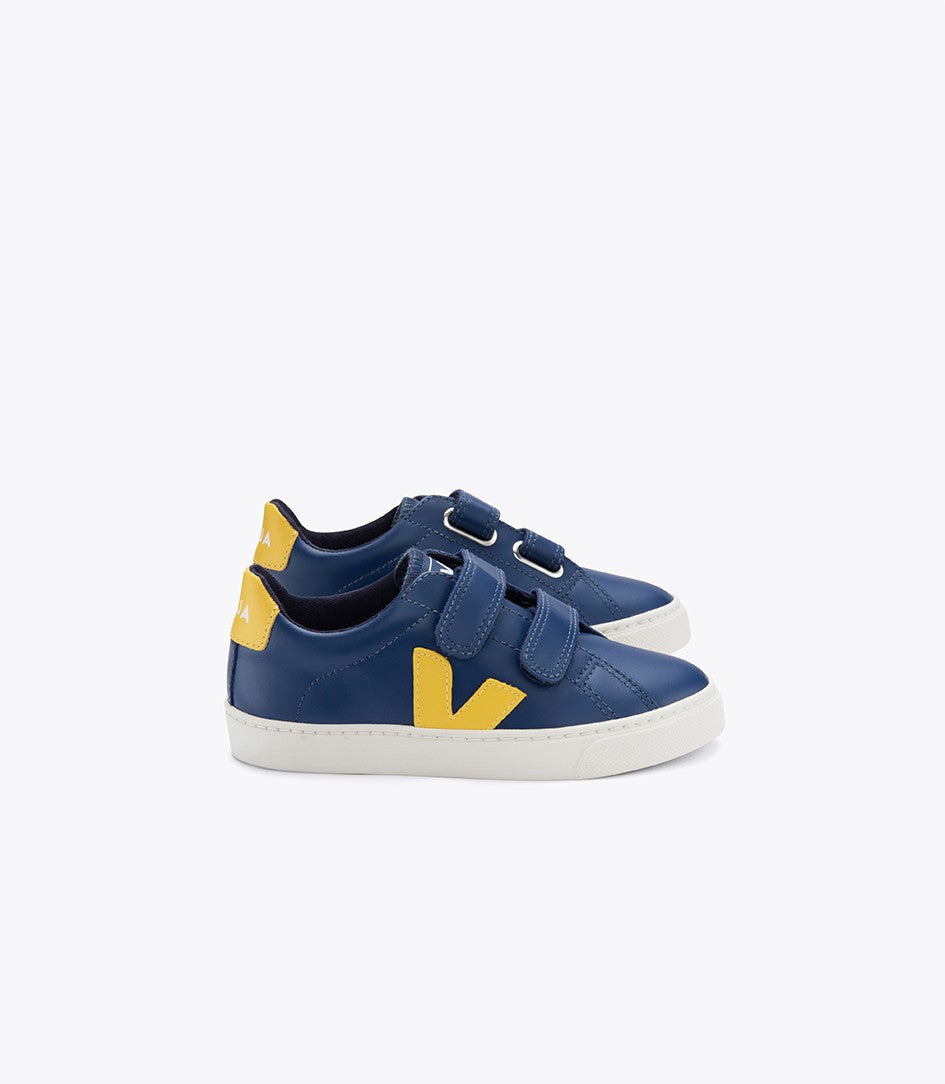 Veja Esplar Leather Trainers Blue