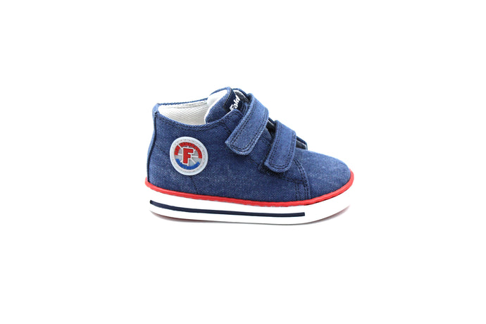 Falcotto Denim Velcro Sneaker