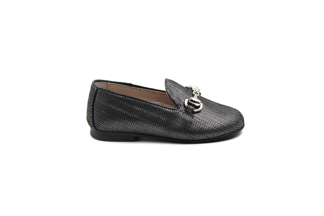Hoo Herringbone Smoking kids Shoe sale