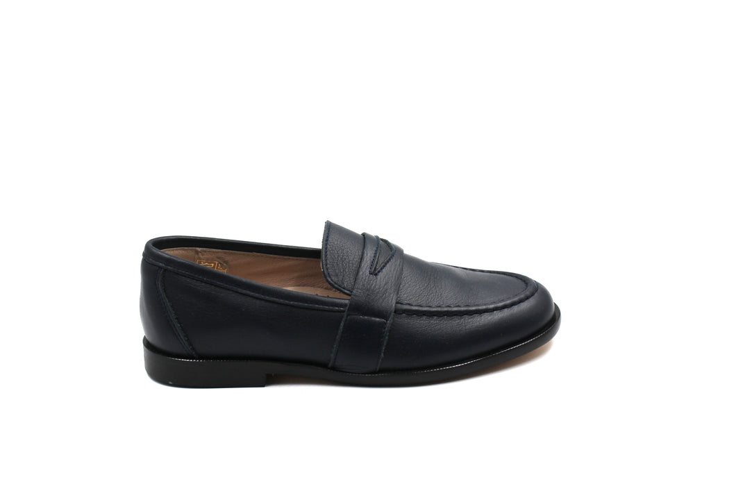 Hoo Navy Penny Loafer