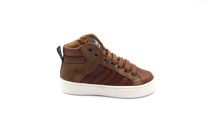 MAA Brown Kids Sneaker