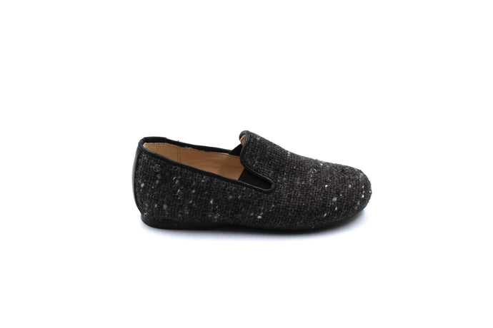 Manuela De Juan Wool Smoking Shoe