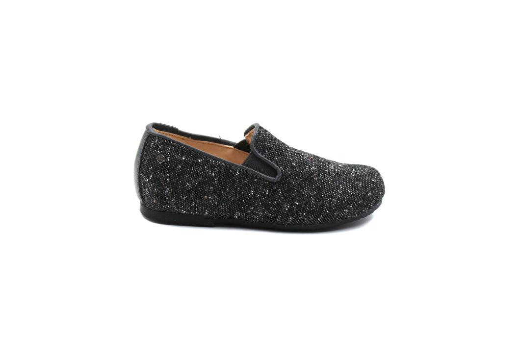 Manuela De Juan Tweed Smoking Shoe