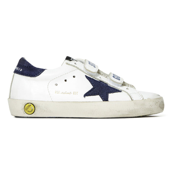 Golden Goose Blue Star Velcro Sneaker