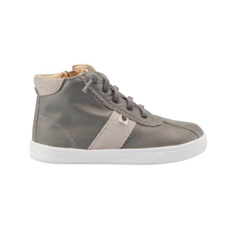 Old Soles Gray Striped High Top Sneaker