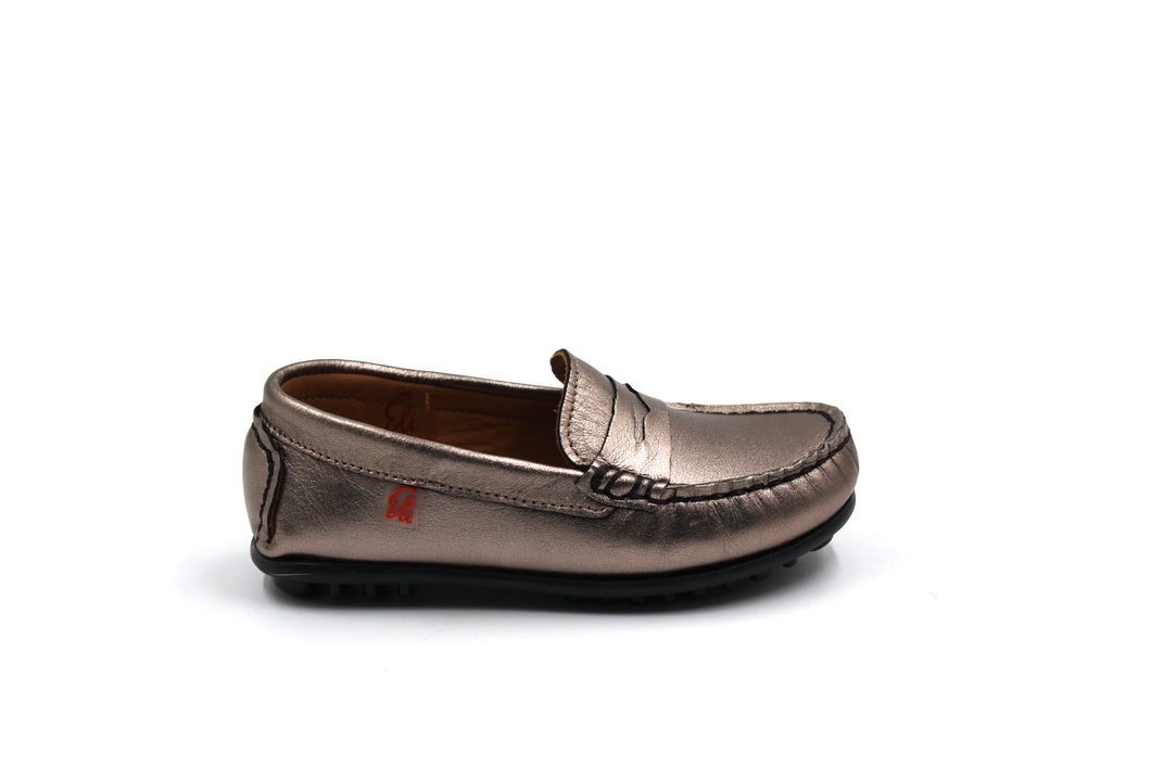 Papanatas Metallic Penny Loafer