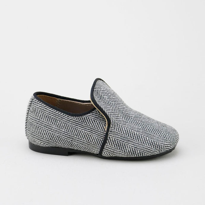 papanatas herringbone smoking shoe