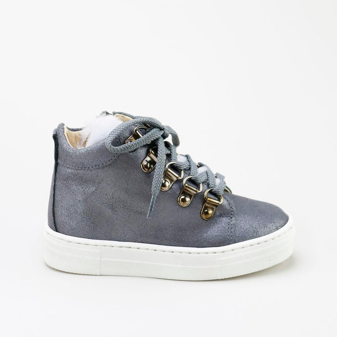 Papanatas Metallic Fur High Top