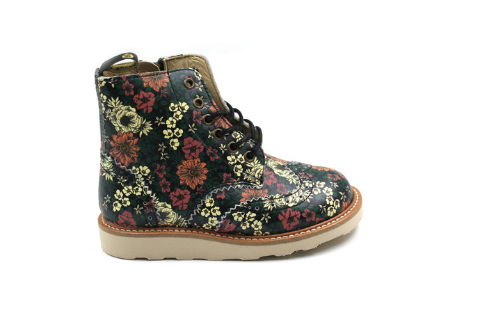 Young Soles Floral Bootie