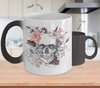 STYLESKULL™ COLOR CHANGING ROSE SKULL CUP