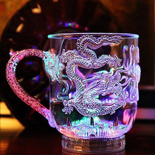 LED Dragon Cup