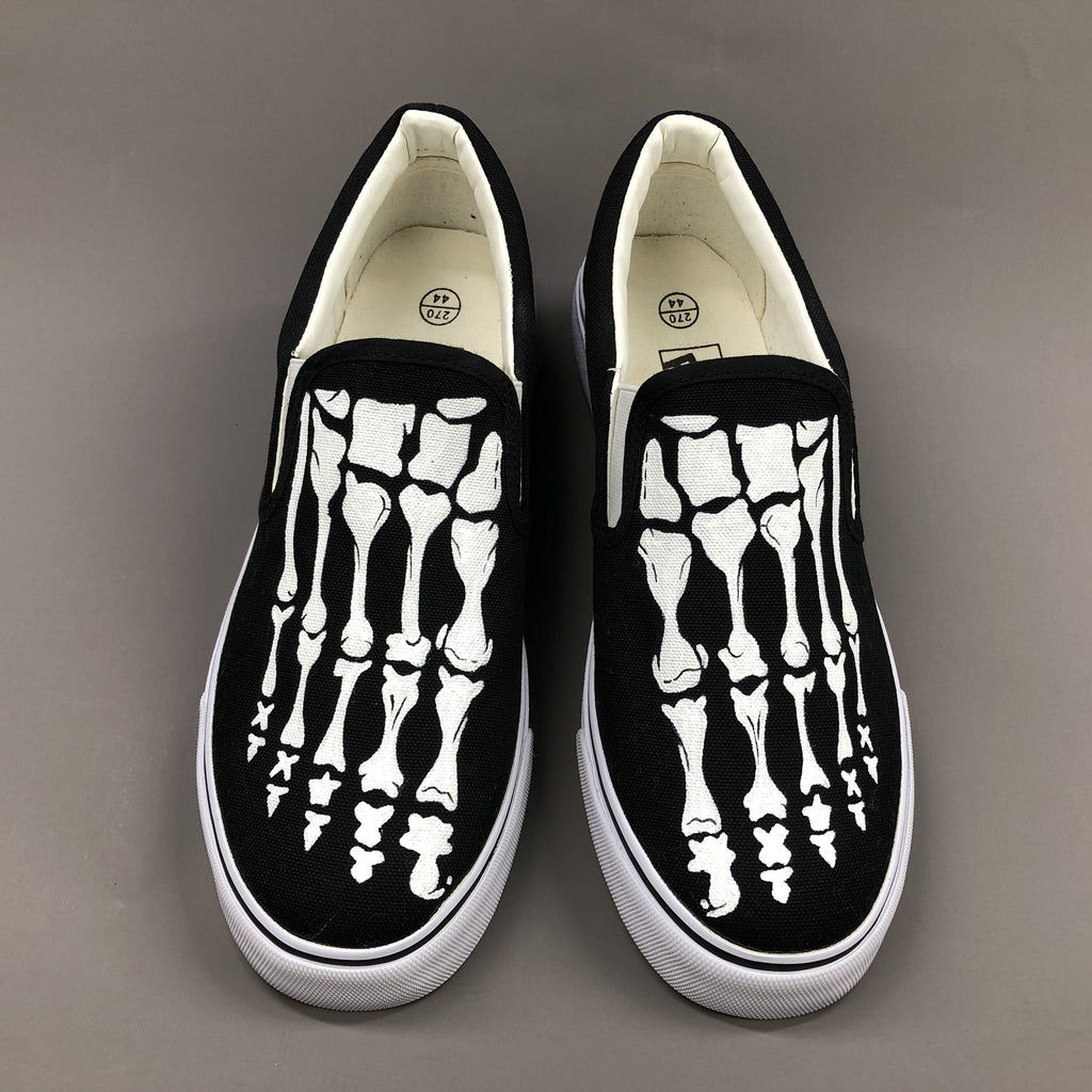 Shoes Custom Design Skull