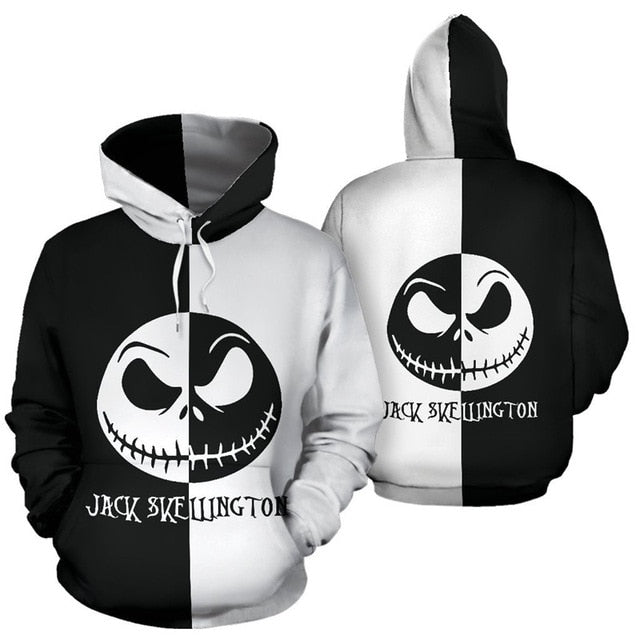 Jack Skellington Sally Halloween Hoodie
