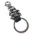 SUPER CROSSED SKULL KEYRING