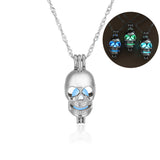 Luminous skull Necklace