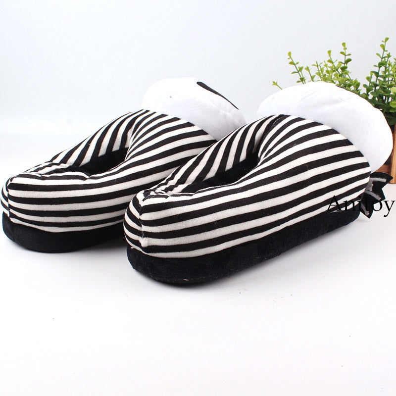 Jack Skellington Plush Shoes