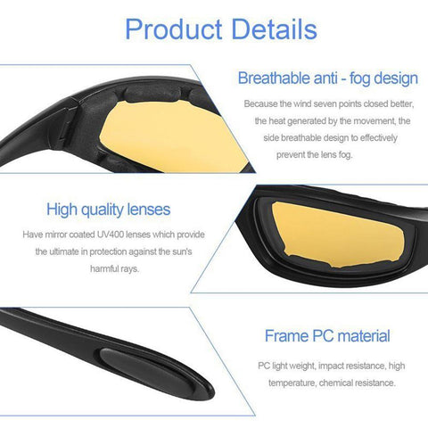 e5998a74316 These Anti-Glare Driving Glasses reduce night riding glare and eye strain.  Protect yourself with a pair of these glasses ! These polarized sunglasses  ...