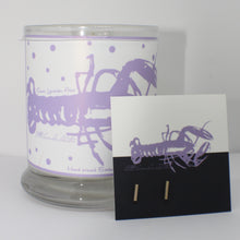 LITTLE LAVENDER LOBSTER CANDLE & BAR EARRINGS