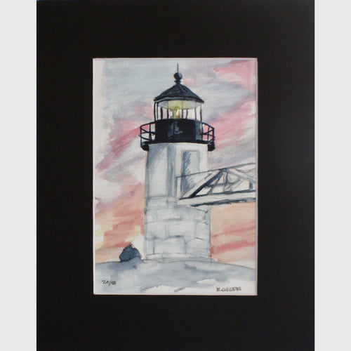 MARSHALL POINT LIGHTHOUSE - PRINT