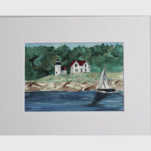 CURTIS ISLAND LIGHTHOUSE - PRINT