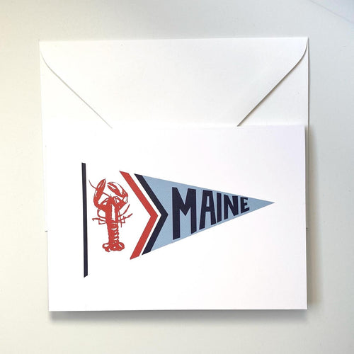 MAINE NAUTICAL FLAG - BLANK NOTE CARDS