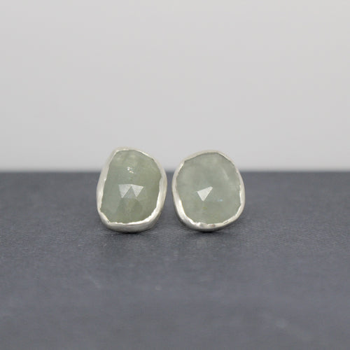 ORGANIC AQUAMARINE - EARRINGS