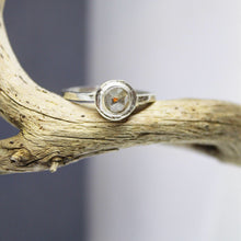 CUSTOM • SILVER SALT + PEPPER DIAMOND RING