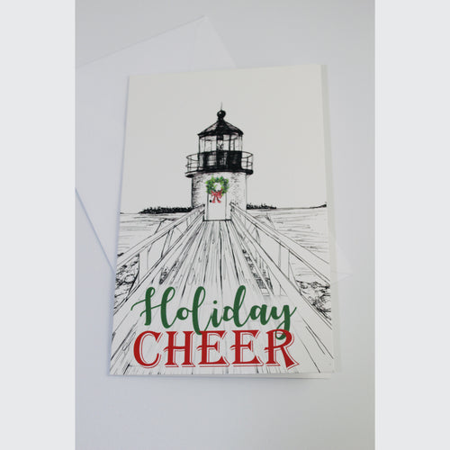 Marshall Point Lighthouse • Christmas Card