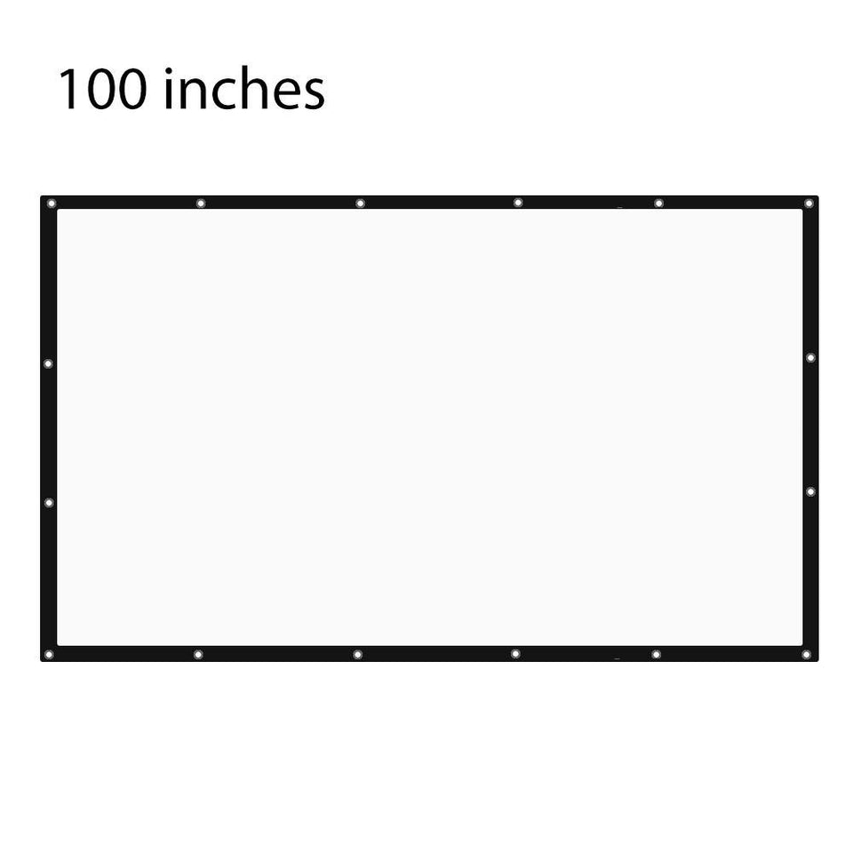 100 Inch 16:9 Projector Screen
