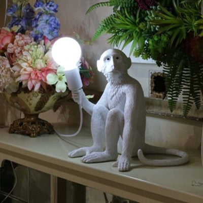 Elegant Monkey Lamp