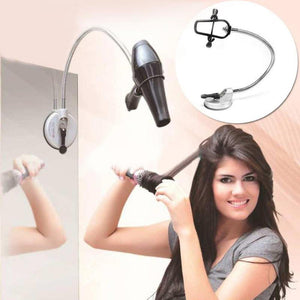 360 Degrees Hands Free Hair Dryer Holder