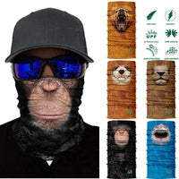 3D Animal Neck Warmer