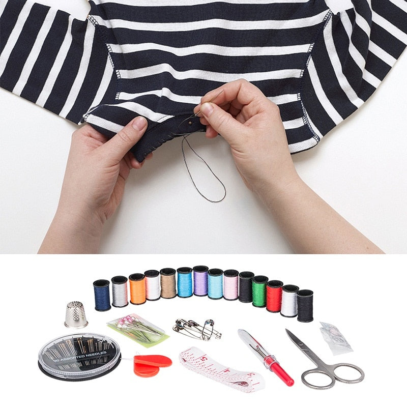 Portable Travel Sewing Kit (70Pcs/Set)