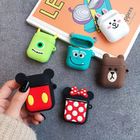 Cute Cartoon Silicone Case
