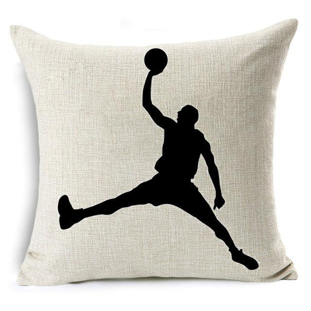 Basketball Pillow Cover