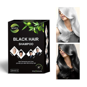 Black Hair Shampoo (5 Sachets)