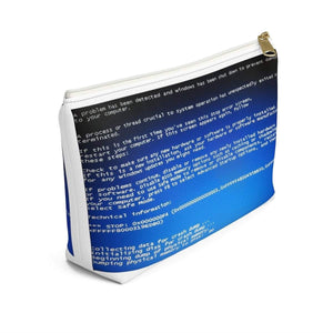 Blue Screen Pouch