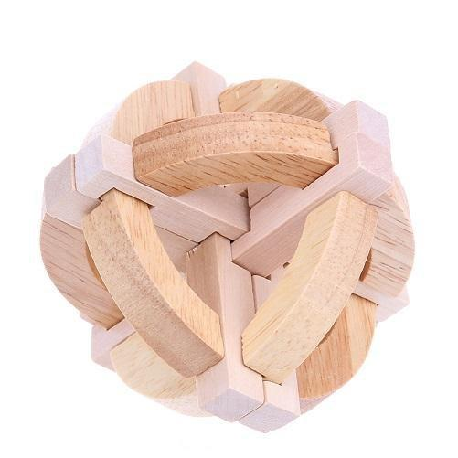Brain Teasing Wooden Puzzles