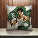 Bruce Lee Pillow Cover