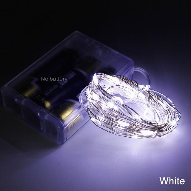 DIY LED String Fairy Light (8 Colors)