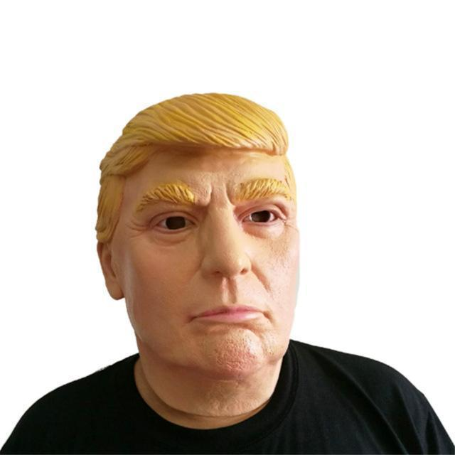 Donald Trump Costume Mask  Realistic Latex