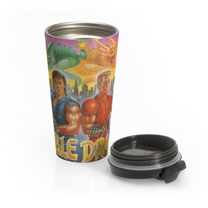 DOUBLE DRAGON Stainless Steel Travel Mug