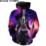 Dragon Ball Z Hoodies Super Saiyan Goku Black Zamasu
