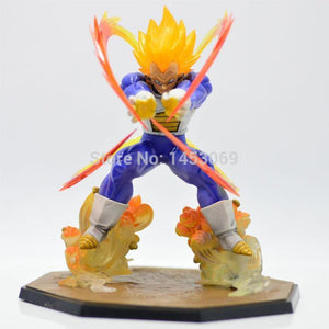 DragonBall Z Super Saiyan Vegeta Battle State Final Flash 15CM